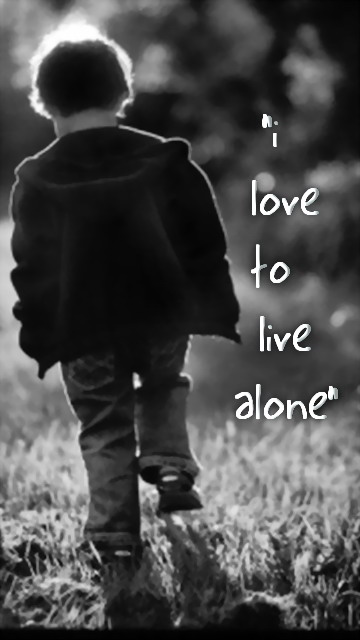 Animated Love Couple Wallpapers Magicmobi Loneliness Mobile Wallpapers 360x640