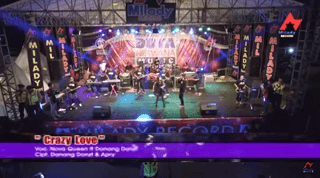 Lirik Lagu Crazy Love - Nova Queen Ft Danang Dantz
