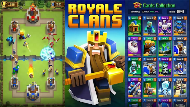 Download Royale Clans Clash of Wars Mod Apk Terbaru Gratis