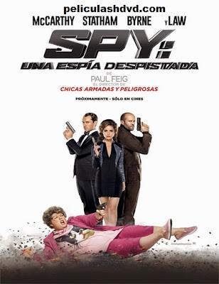 Ver Una espía despistada:Spy  (2015) online