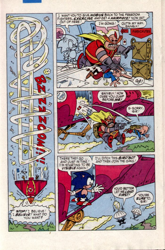Read online Sonic The Hedgehog comic -  Issue #20 - 16