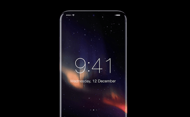 Apple Apple is testing a prototype OLED screen bend to the iPhone 8