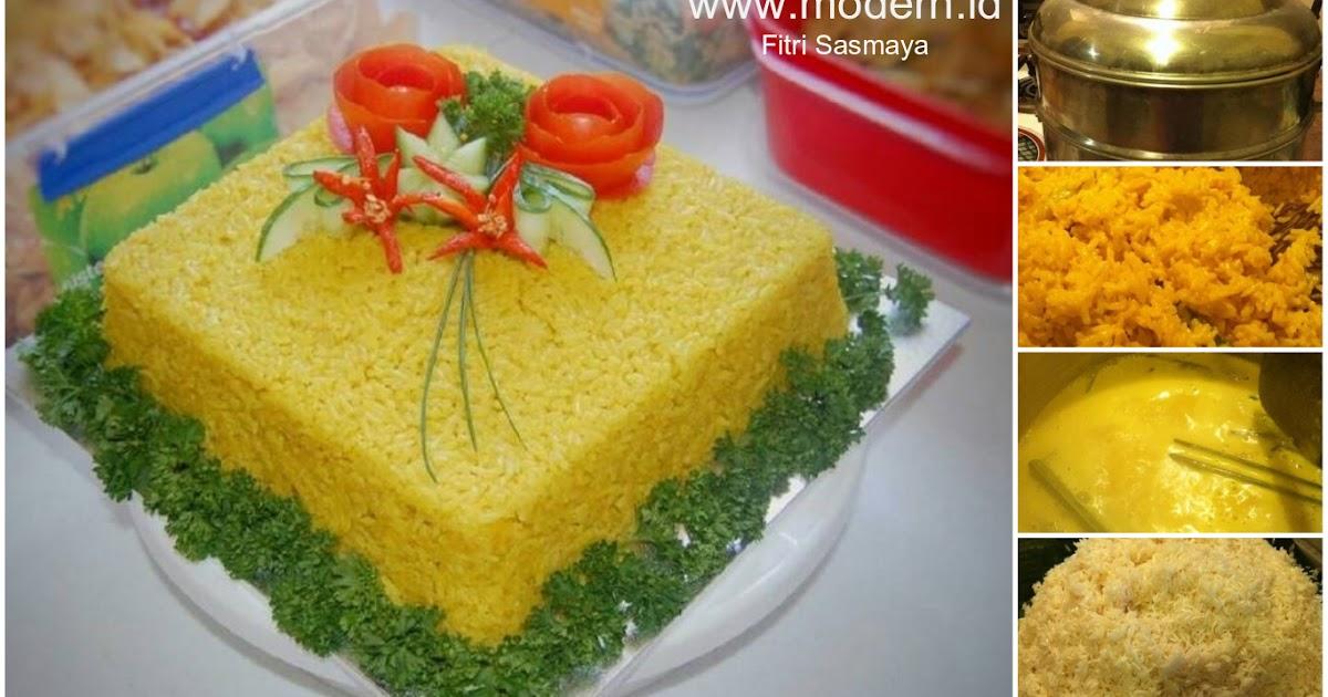 Resep Nasi Kuning Pulen Enaknya Nggak Bikin Nyesel Modern Id