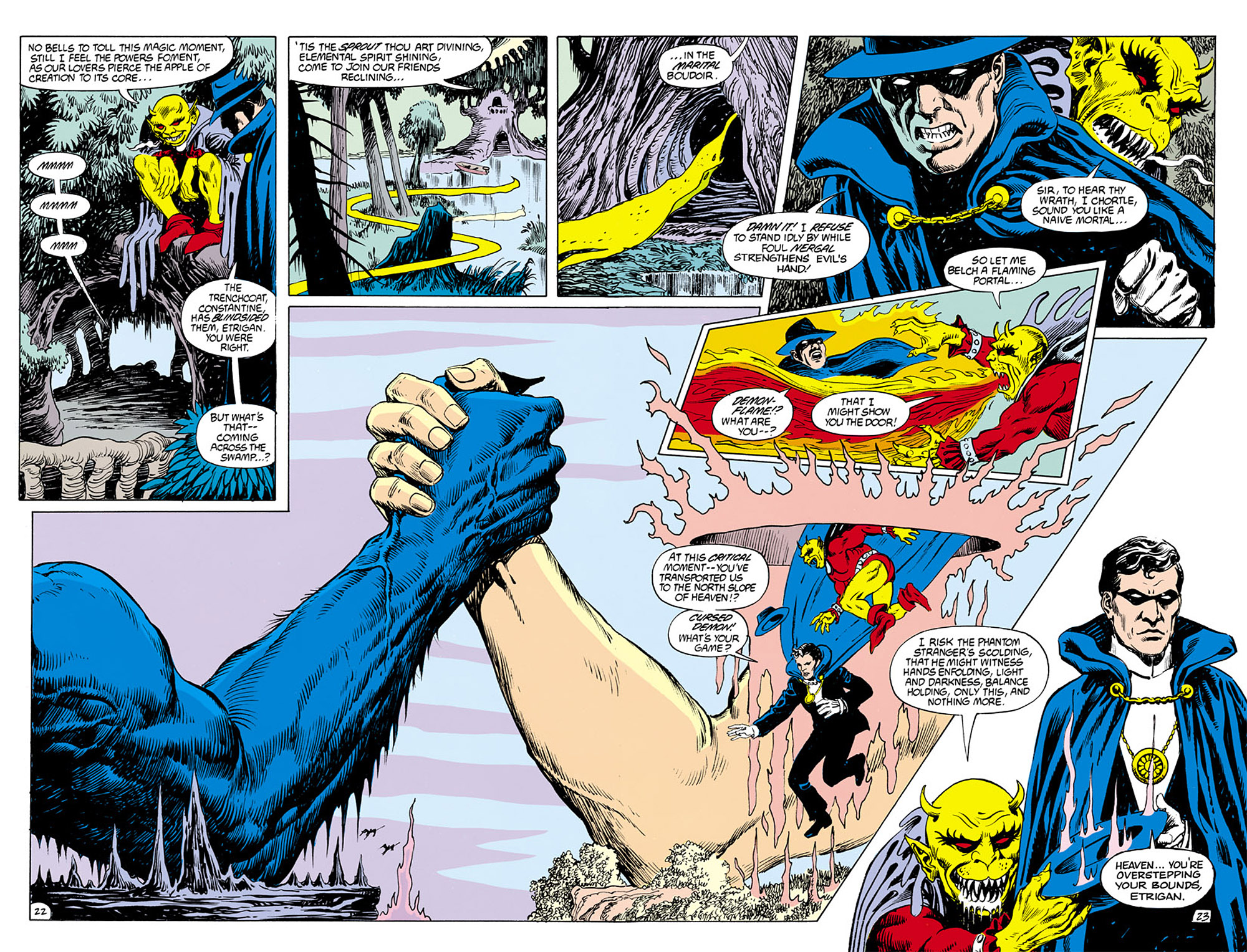 Swamp Thing (1982) Issue #76 #84 - English 22