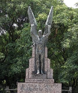 Monumento Palo Gran, na Reserva Ecológica, Buenos Aires