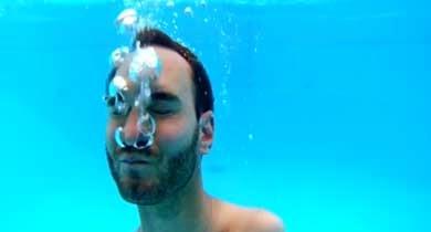 Nick Vujicic ahogarse