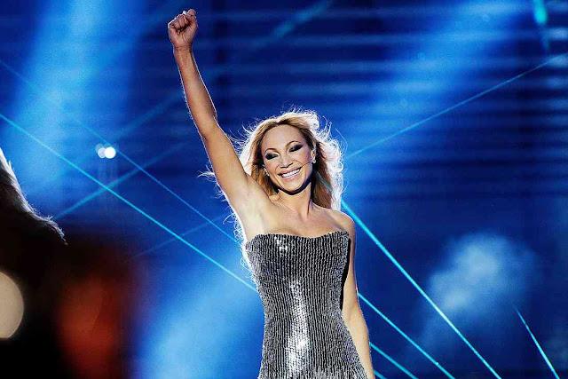 Charlotte Perrelli en el Melodifestivalen 2008