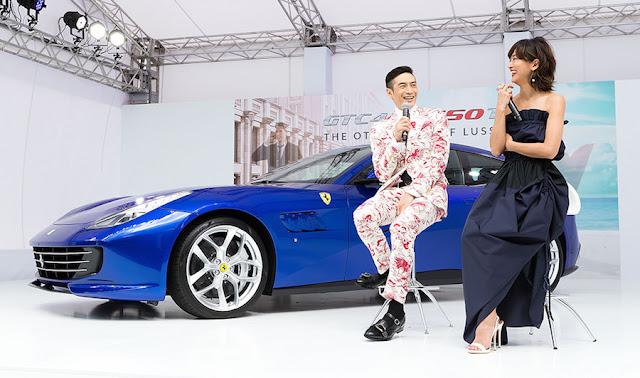 フェラーリ、「GTC4ルッソT」が日本初披露!快適性を備えた初の8気筒4シーターに。