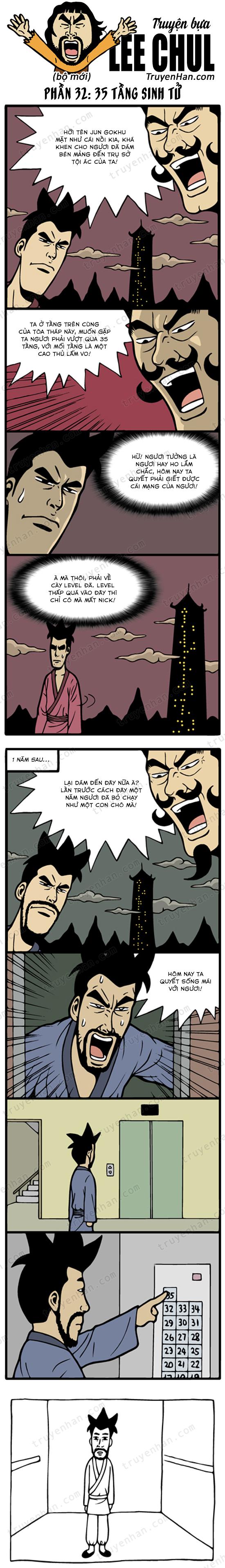 Lee Chul (bộ mới) phần 32: 35 tầng sinh tử