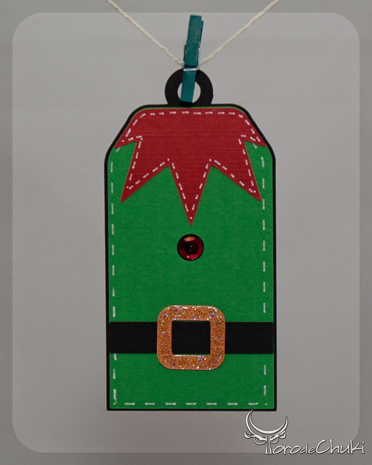 Free Printable Elf Gift Tags – Nella Designs  |Christmas Elf Tag