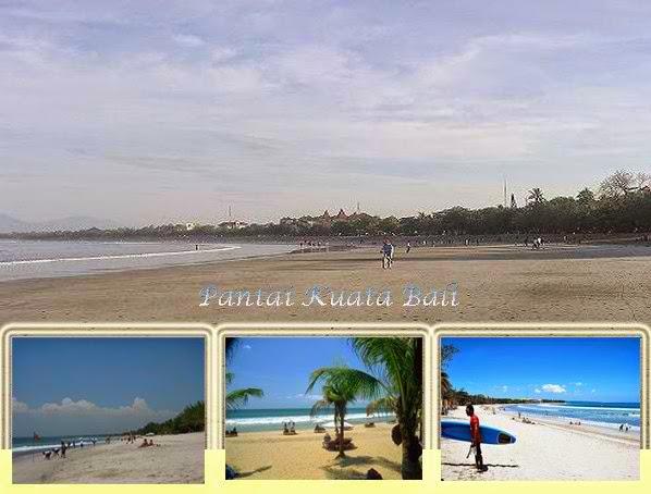 Pantai Kuta Di Bali Tempat Mengasyikan Untuk Berjemur Di