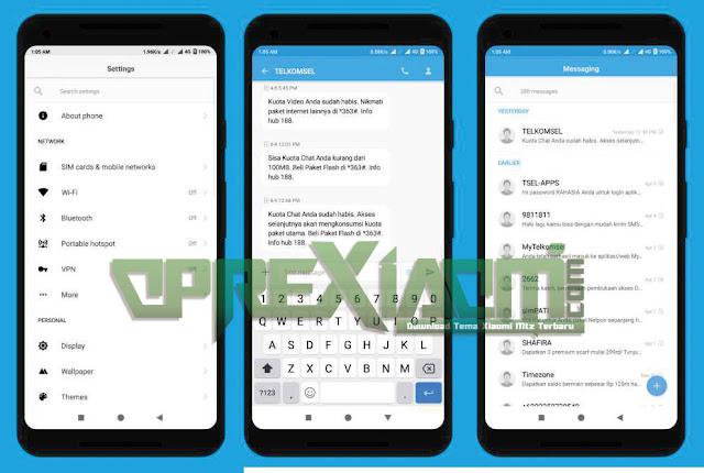 Download Tema pure android p mtz Update Terbaru