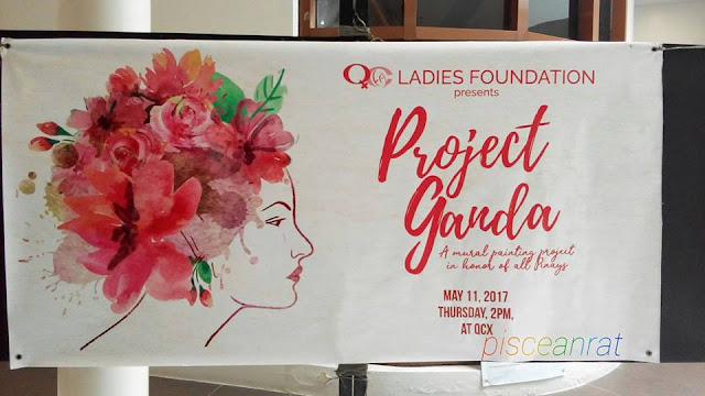 Because every woman is beautiful and she deserves to be reminded of this, the QC Ladies Foundation presents Project Ganda, a mural painting project in honor of all Pinays