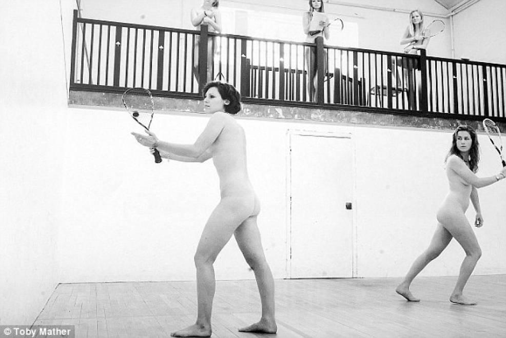 Girls martial arts nude calendar 8