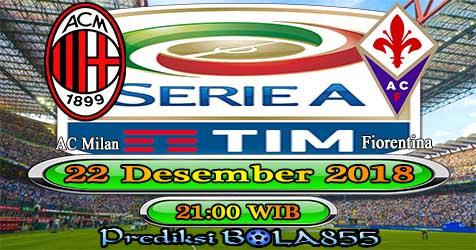 Prediksi Bola855 AC Milan vs Fiorentina 22 Desember 2018