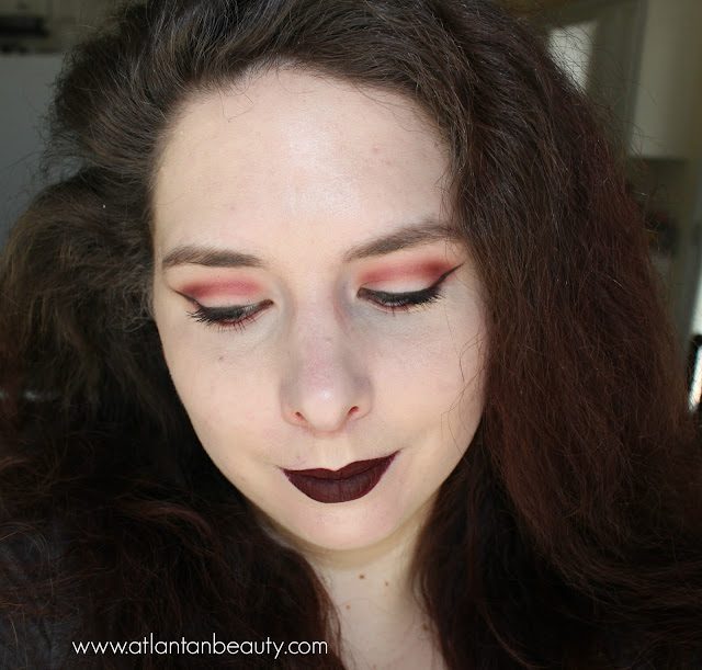 Dramatic fall makeup
