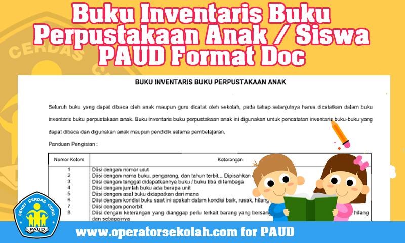 Buku Inventaris Buku Perpustakaan Anak - Siswa PAUD Format Doc.jpg