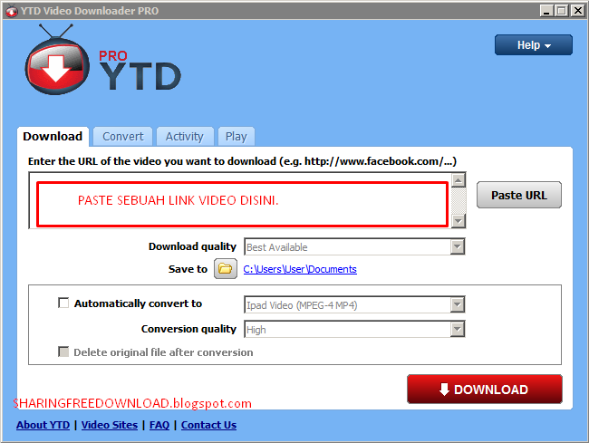 Free Download Youtube Video Downloader PRO 5.1.1 Terbaru Full version