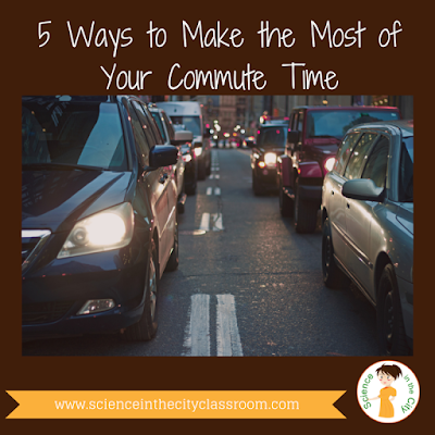 Make your commute time work for you!