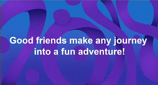 Good friends make any journey into a fun adventure! - #livinMicro #FairlyAdept #soWrongItsWrite #Good...