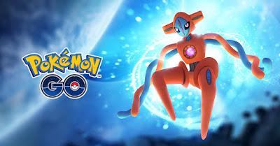 Pokemon Go Deoxys Raid