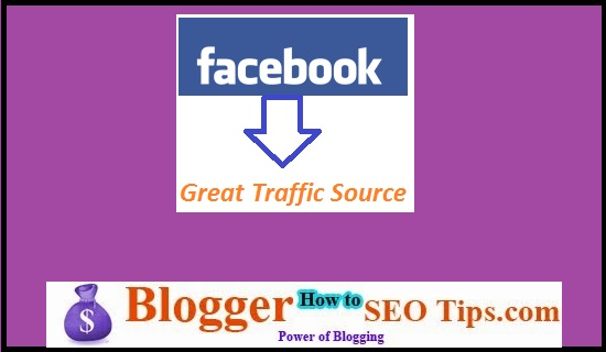 Traffic to Blog, Traffic from Facebook, Facebook Profile