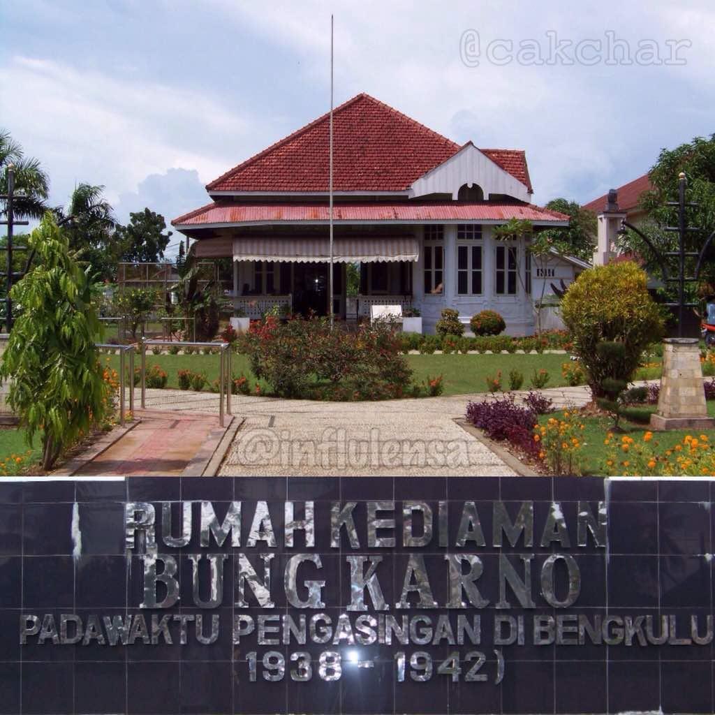 Rumah Bung Karno Di Bengkulu