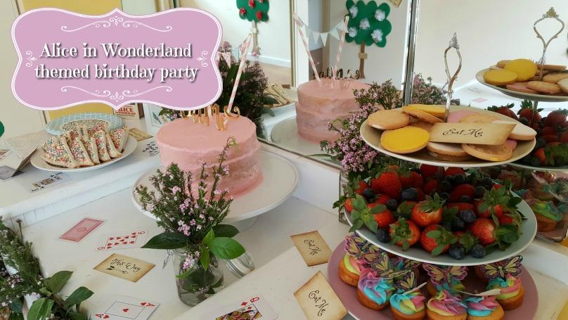 Best Alice in Wonderland birthday party ideas