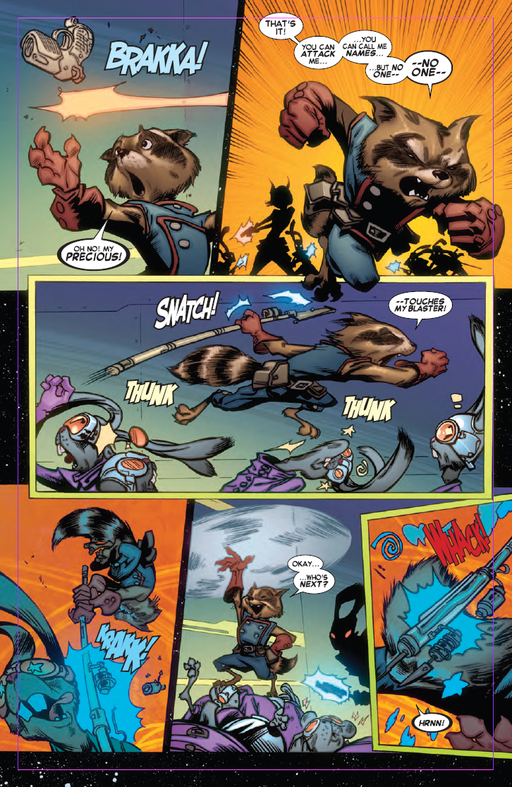 COMICS: Preview Joe Caramanga's Upcoming ROCKET RACCOON Comic