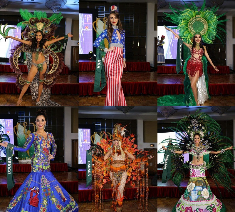 Miss Earth 2016 National Costumes