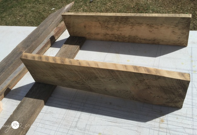 fingering out how to build shelves