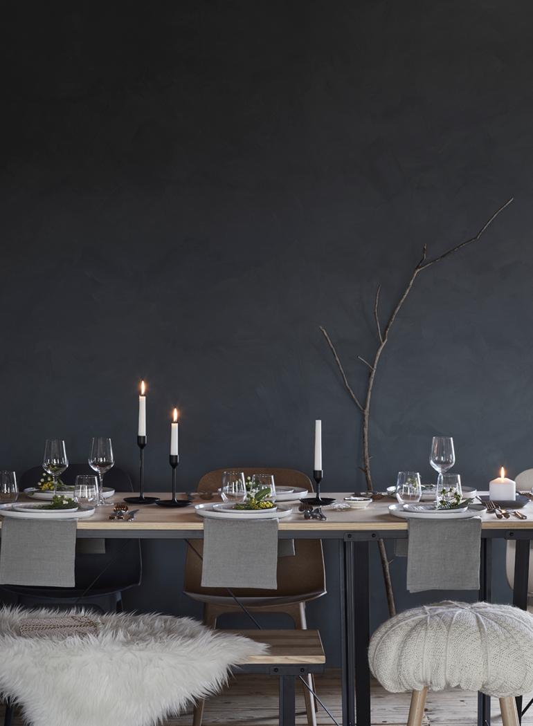 navidad-ikea-vajilla-vinter-gres-decoracion-mesa-velas
