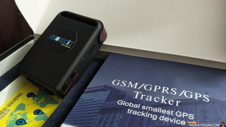Stopanik GPS Tracker