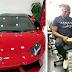 Photo: Nigerian/Dubai Big Boy Mompha Buys A N134m Lamborghini Aventador Roadstar