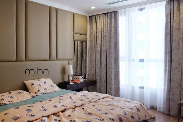 Chọn rèm vải cản sáng cho phòng ngủ