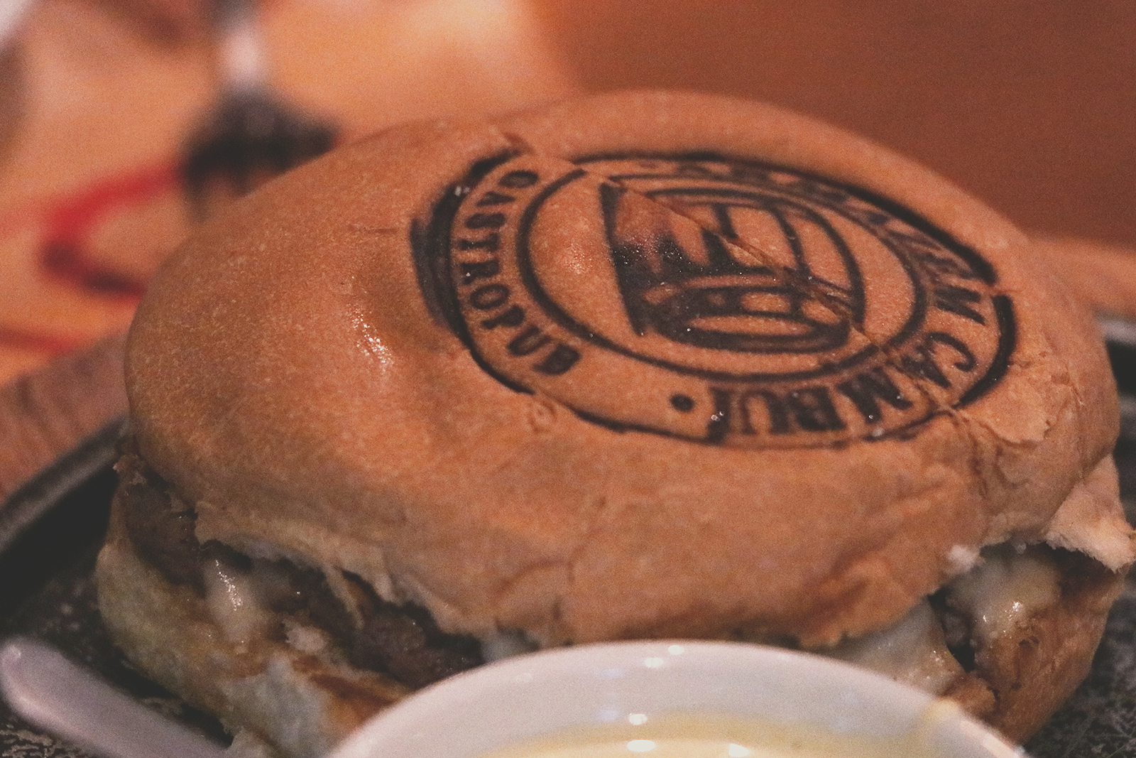 hamburger carimbado