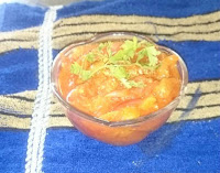 tomato plain curry