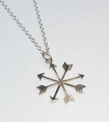 Arrow Snowflake From Bloody Metal Mary