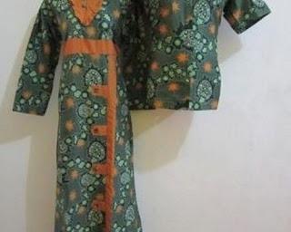 model baju batik atasan dan bawahan rok
