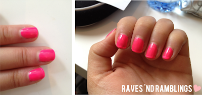 NOTD #2 - ModelsOwn Bubblegum - Raves 'nd Ramblings