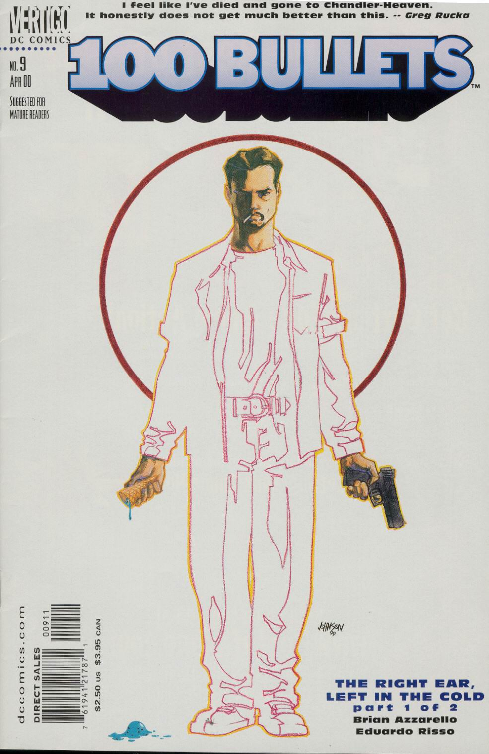 Read online 100 Bullets comic -  Issue #9 - 2