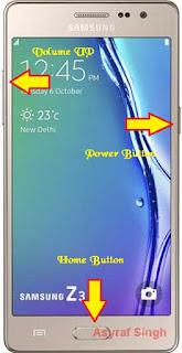 Hard Reset Samsung Galaxy Z3 (Z300H/DD INDIA)