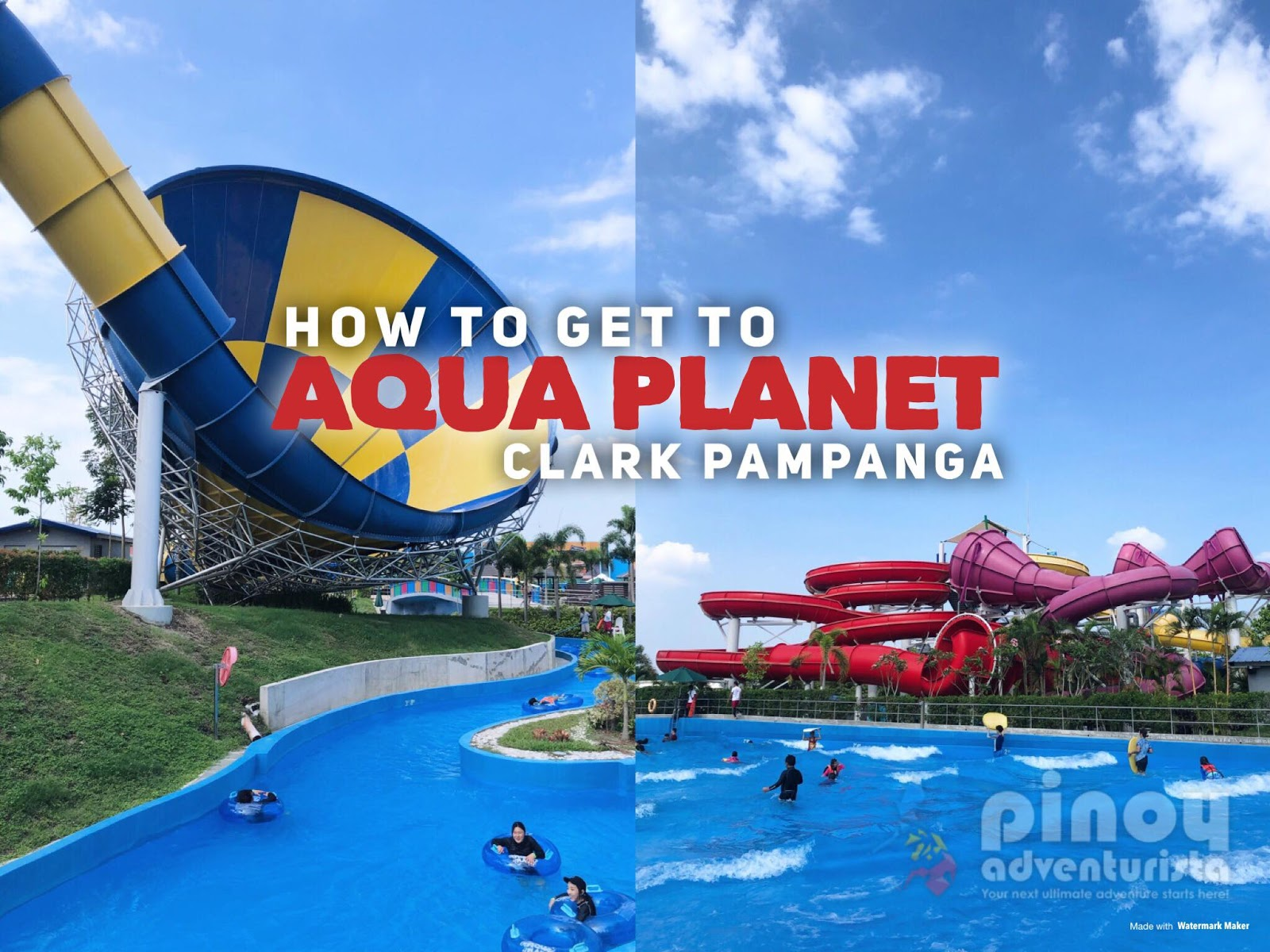 How to Get to AQUA PLANET from MANILA by Commute and Private