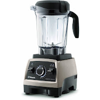 Vitamix Professional Series 750 Blender, with commercial grade 2.2 peak horsepower motor with speeds of up to 240 mph, make your own healthy smoothies, purees, hot soups, frozen desserts & more