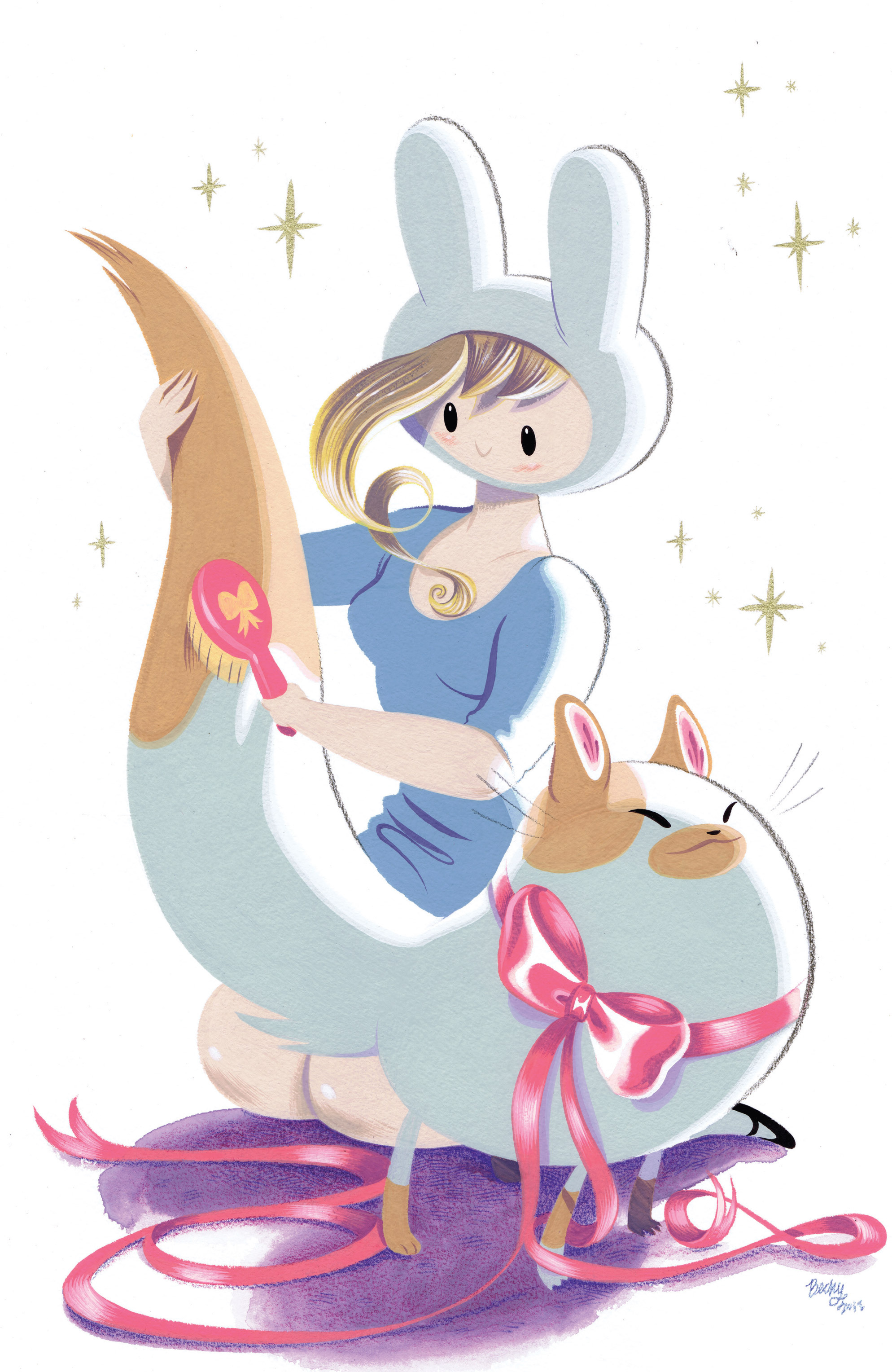 Read online Adventure Time with Fionna & Cake comic -  Issue #1 - 5