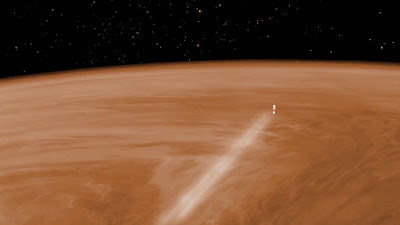 Venus Express' swansong experiment sheds light on Venus' polar atmosphere