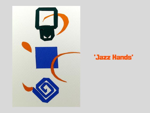 COVER: Jazz Hands, pop up card by Minaz Jantz