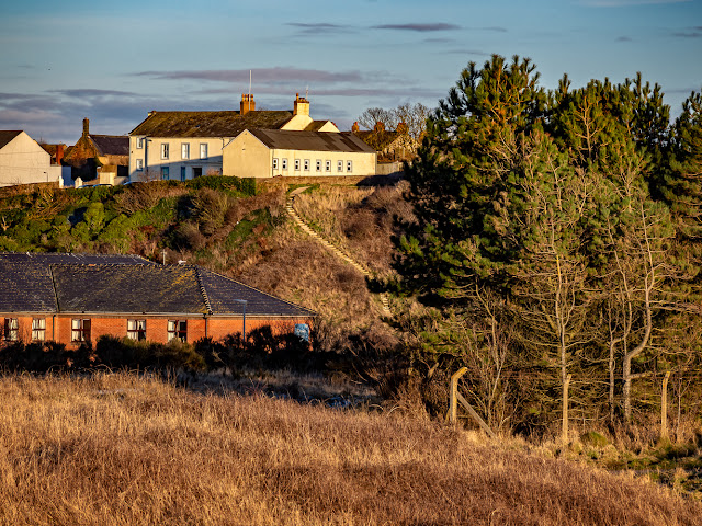 Photo of The Settlement at Maryport from the coastal walk to Flimby