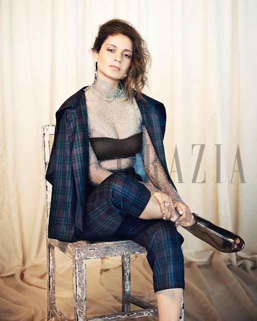 Kangana Ranaut - Grazia India Magazine October 2017