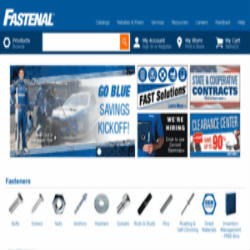 fastenal.com- One of the Top 10 B2B portals in USA for Industrial Construction supplies 250x250